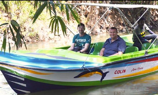 Charter A Motor Boat For Sightseeing In Negombo, Sri Lanka