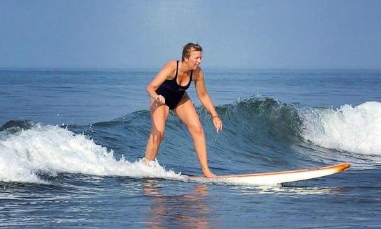 Enjoy Surf Lessons In Morjim, Goa