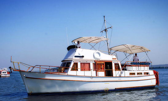 Charter 42' Motor Yacht In Goa, India