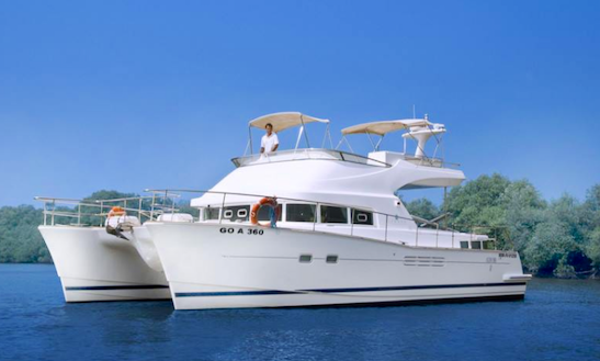 Charter 45' Power Catamaran In Goa, India