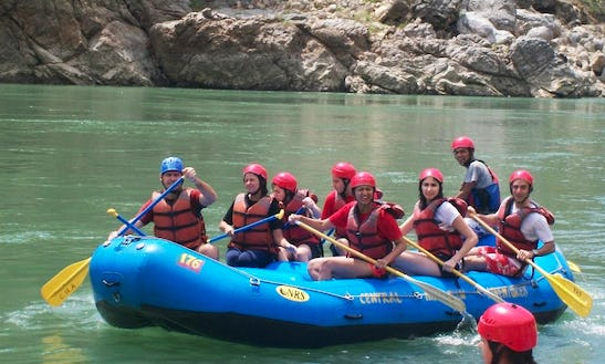 Enjoy Rafting Trips In Uttarakhand, India