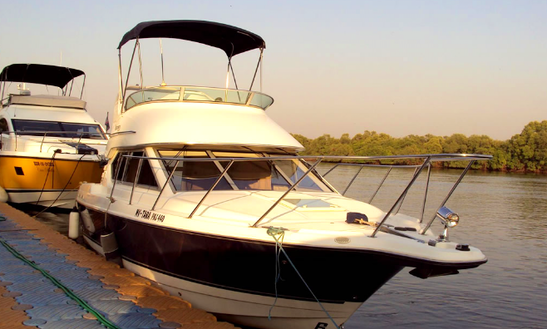 Charter 33' Motor Yacht In Goa, India