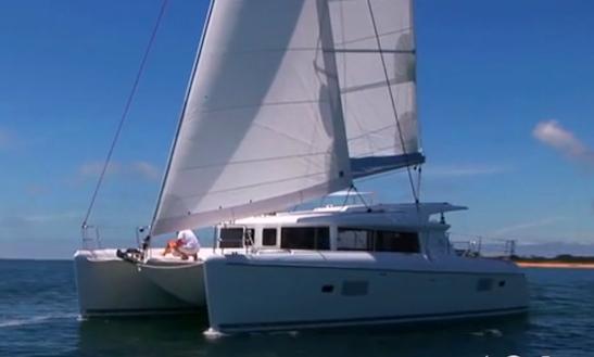 Charter 42ft Lagoon Cruising Catamaran In Corralejo, Spain