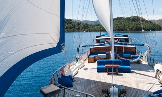 100' Gulet Charter In Muğla, Turkey