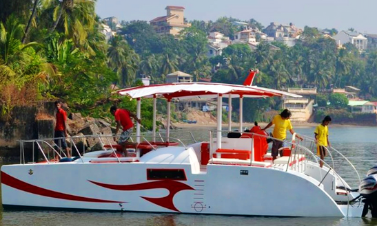 Party Boat Experience In Goa, India