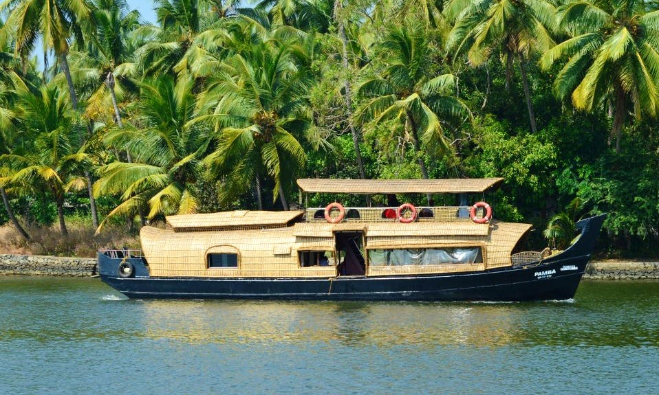 Experience a Houseboating Adventure in Kerala, India