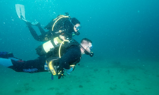 Enjoy Dedicated Diving Trips And Lessons On Island Korcula, Croatia