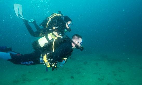 Enjoy Dedicated Diving Trips And Lessons On Island Korcula, Croatia