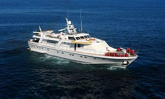 Charter 108' Power Mega Yacht In Campania, Italy