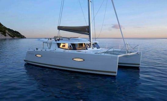 Charter 43' Cruising Catamaran In Portisco, Italy