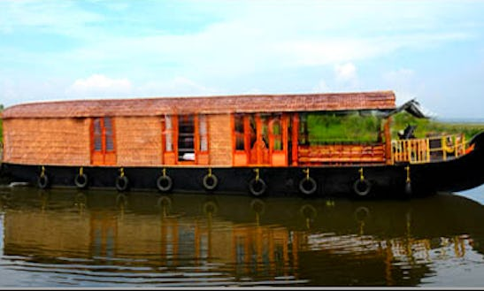 Enjoy The Comfort On A Houseboat In Kerala, India