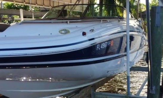 Enjoy South West Florida On Hurricane 240 Deck Boat Rental