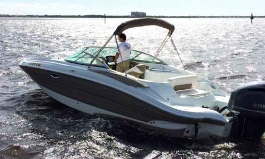 Rent The 26 Southwind Bowrider Boat In Cape Coral, Florida