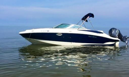 Rent the 2015 Southwind 2600 Bowrider Boat in Cape Coral, Florida