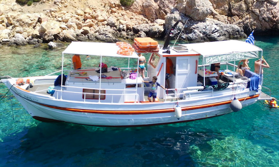 Charter 36' Passenger Boat In Paros, Greece
