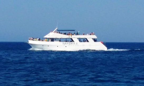 Charter Nafiska Ii Passenger Boat In Poli Crysochous,cyprus