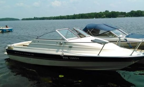 Rent The 19ft Bayliner Boat In Ennismore, Ontario