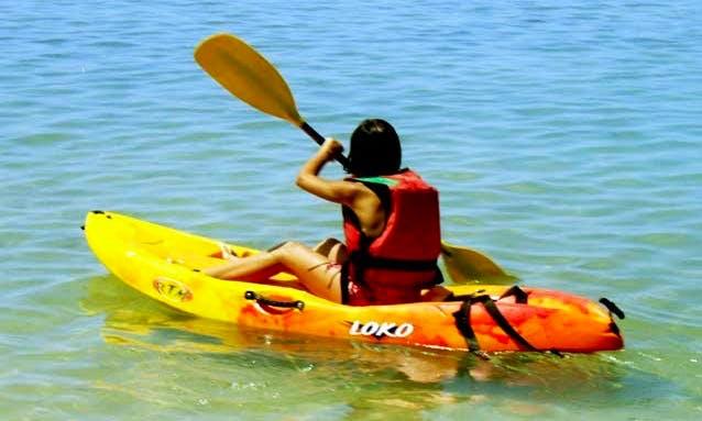 Enjoy Kayak Tours in Albufeira, Portugal