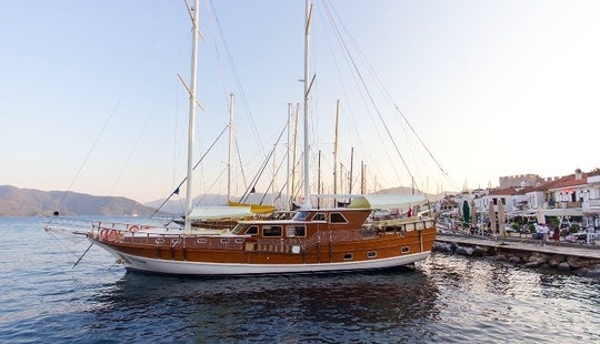 Captained Gulet Charter In Corfu, Greece - Felton