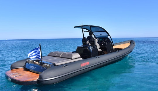 Enjoy The 36' Mega Rib Scorpion Ment In Voula, Greece