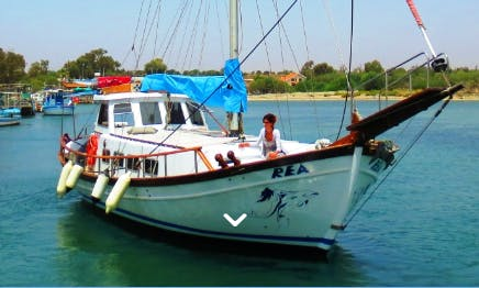 Charter 44' Schooner in Liopetri, Ammochostos, Cyprus
