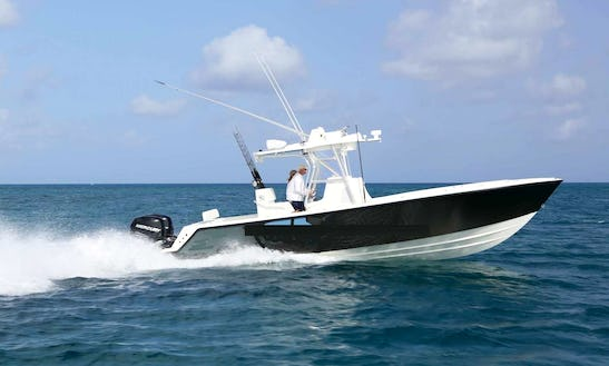 Epic Charter Fishing In Pacific Harbour, Fiji On 30' Center Console