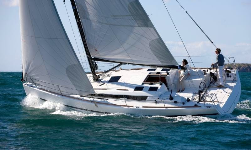 """Sail on """"Maguelone"""" Dufour Sailing Yacht In Sag Harbor, NY or Stonington, CT"""