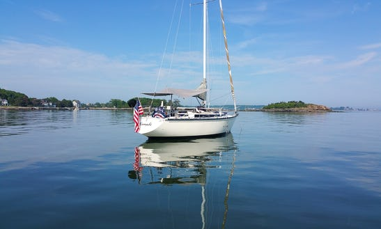 35ft Dufour 4800 Sloop Boat Charter In Sag Harbor, New York