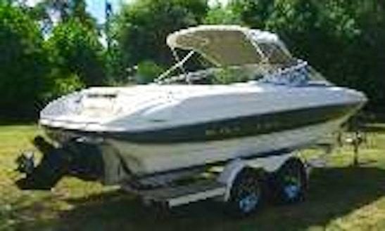 220hp Bayliner Capri Boat Rental In Tivat Municipality, Montenegro