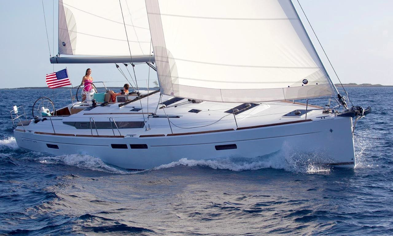"Jeanneau Sun Odyssey 479 ""Azzurra"" Sailing Yacht in Scarlino, Italy"