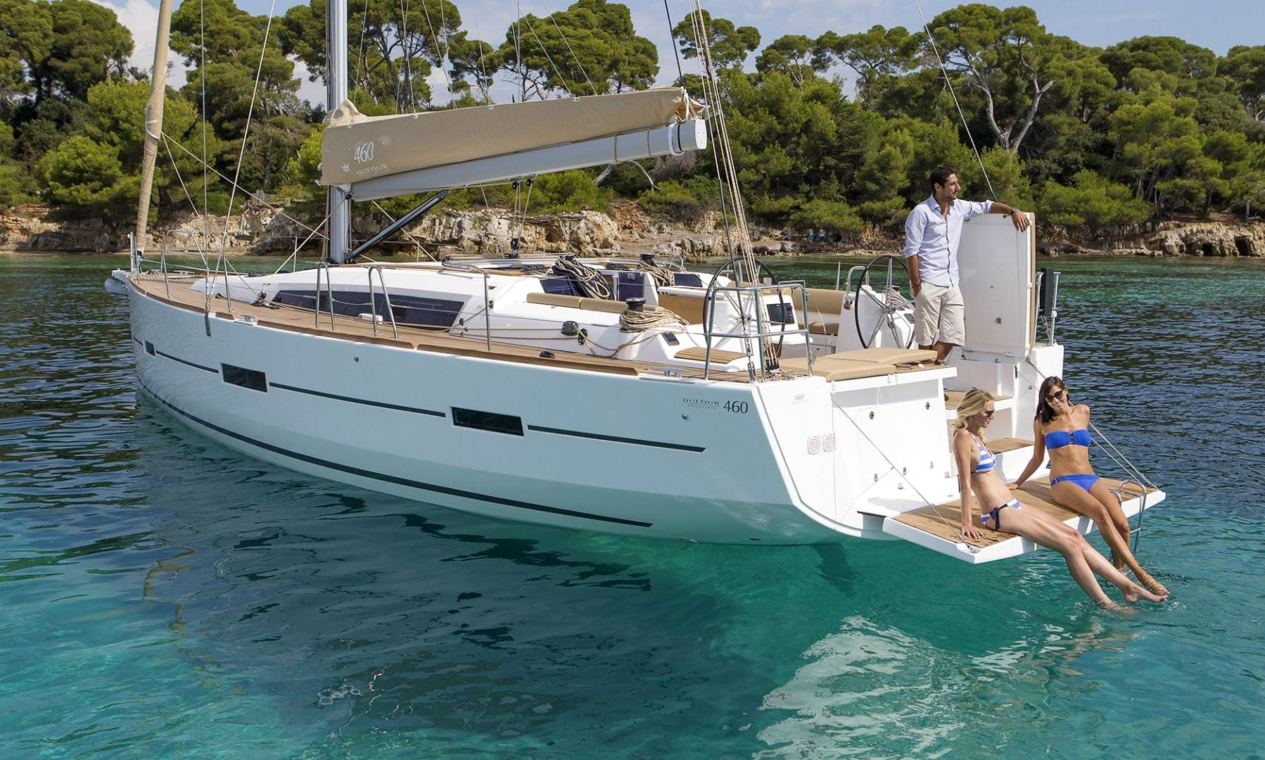 "Dufour 460 Grand Large ""Asia"" Sailing Yacht Charter in Scarlino, Italy"