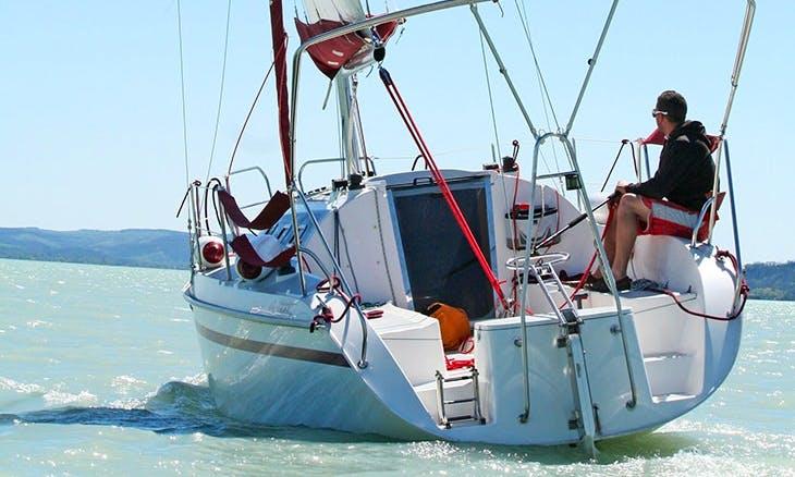 Rent 29' Louise Cruising Monohull in Balatonfüred, Hungary