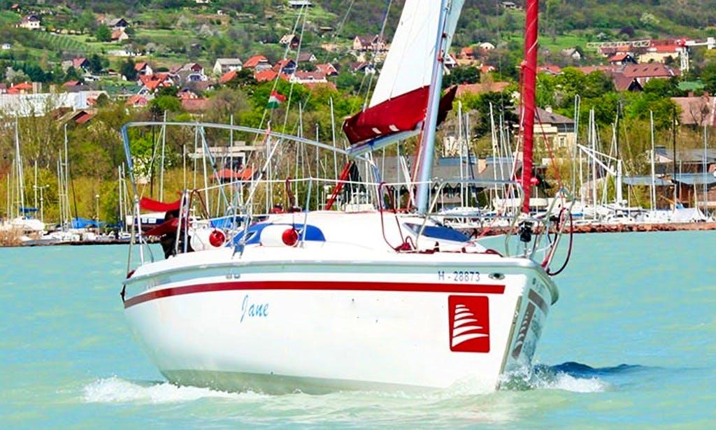 Rent 29' Jane Cruising Monohull in Balatonfüred, Hungary