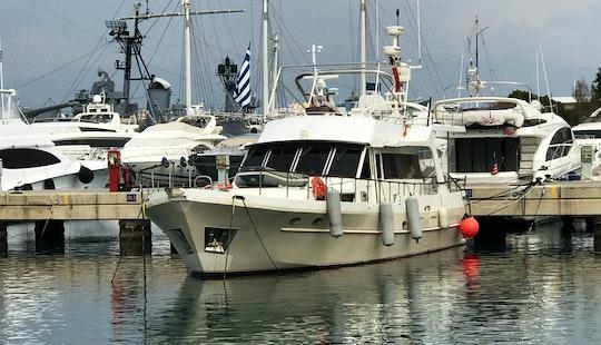 Motor Yacht Charter In Paleo Faliro, Greece
