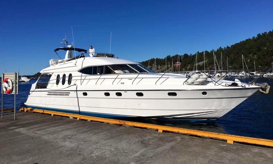 Charter 72' Power Mega Yacht in Stavanger, Rogaland