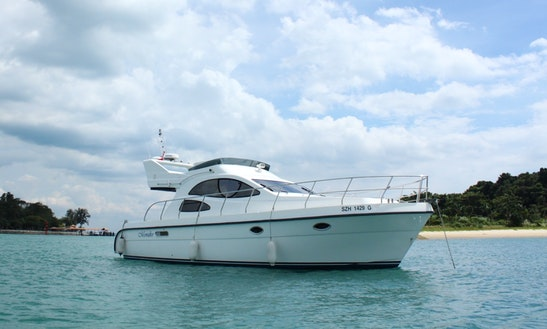 Charter The Monako Motor Yacht In Singapore