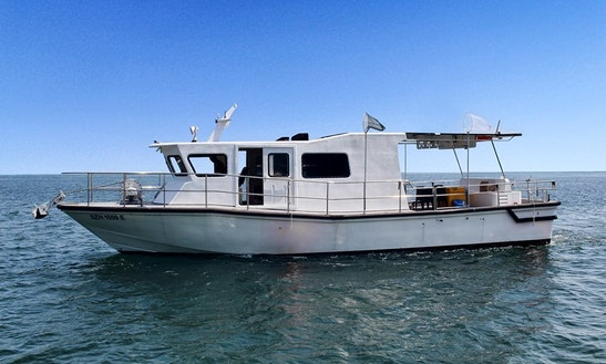 Enjoy Fishing In Singapore On 46' Trawler