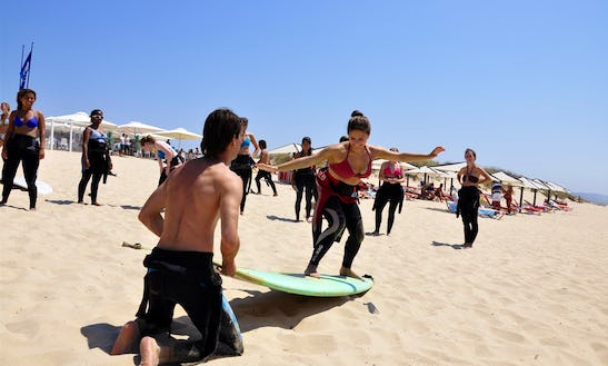 Lisbon Surf Experience W/video Footage
