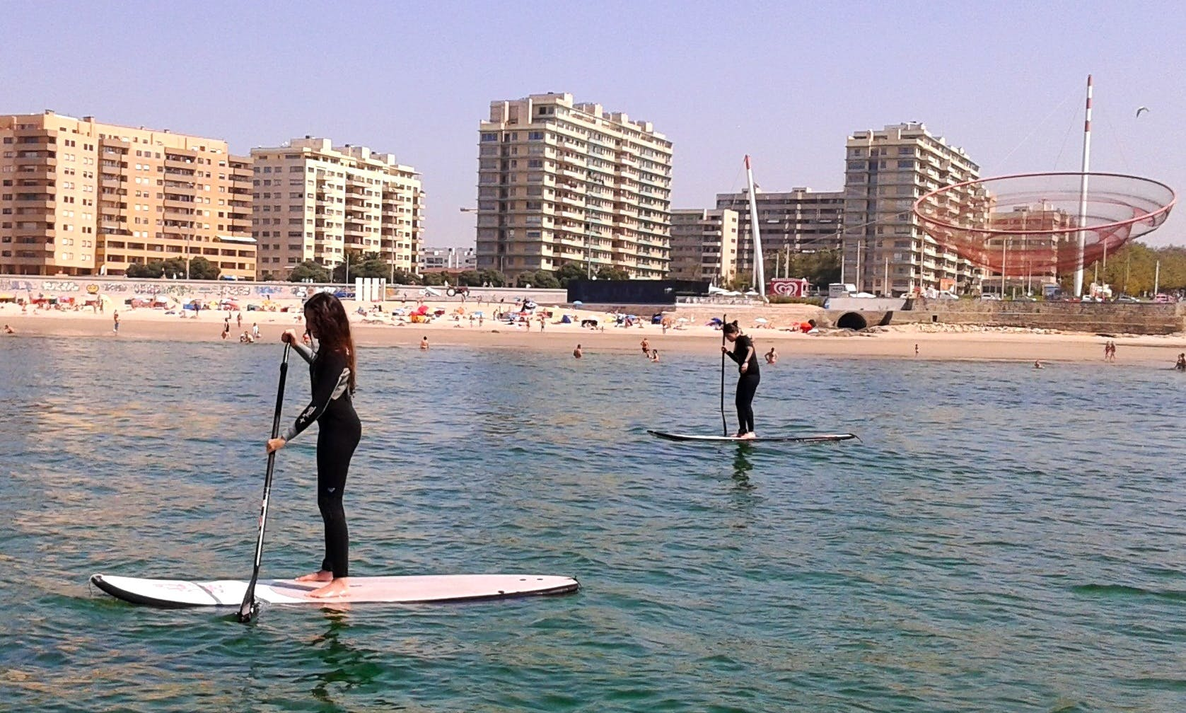 Paddleboard Lesson In Matosinhos, Portugal