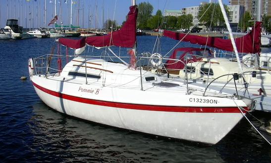 26ft Cruising Monohull Boat Rental In Kingston, Canada