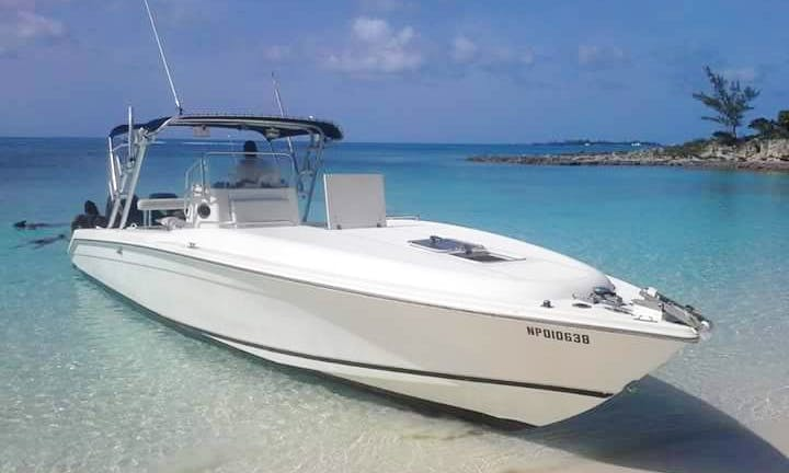 36' Center Console Rental in Nassau, Bahamas