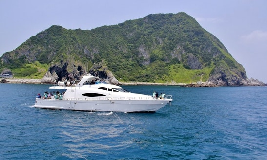 Charter A Power Mega Yacht In Keelung, Taiwan For 30 Pax