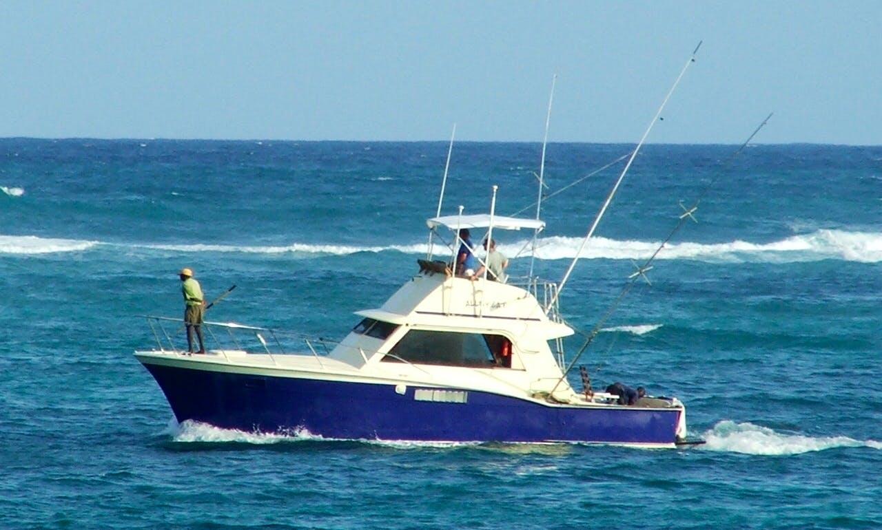Enjoy Fishing in Nicosia, Cyprus on a Sport Fisherman