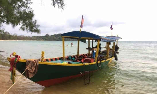 Charter A Traditional Boat In Sihanoukville, Cambodia