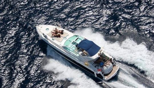 Charter 48' Fairline Targa Motor Yacht In Santa Eulària Des Riu, Spain