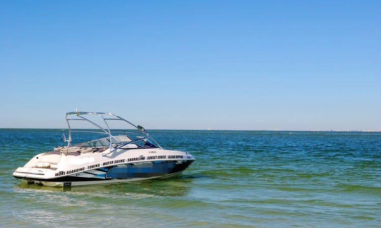 Enjoy 2019 24 ft Yamaha AR240 Charter in Saint Pete Beach, Florida