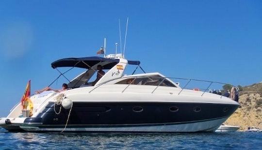 Charter 40ft Princess Motor Yacht In Santa Eulària Des Riu
