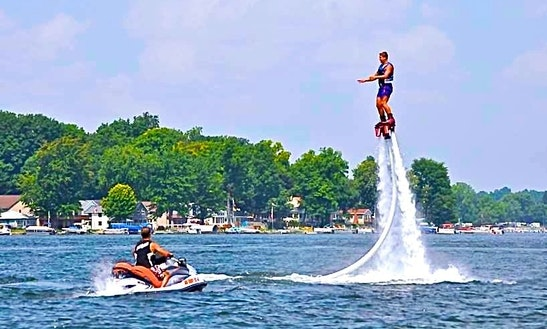 Flyboarding & Jetpacking Training And Lessons, Water Party Entertainment  At Clarklake