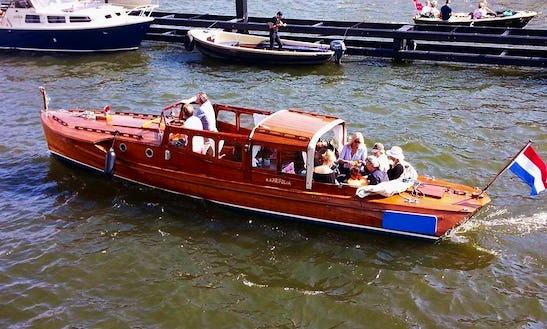 Elegant Cruise Around Amsterdam Aboard The 31' Pettersson Classic Boat