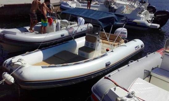 Bwa 550 40cv Rib Boat Rental In Stintino Asinara, Italy